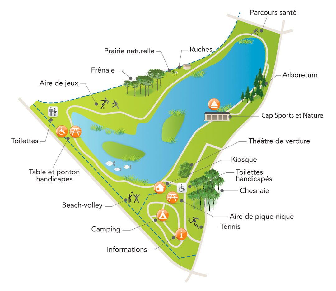 Lake ground plan